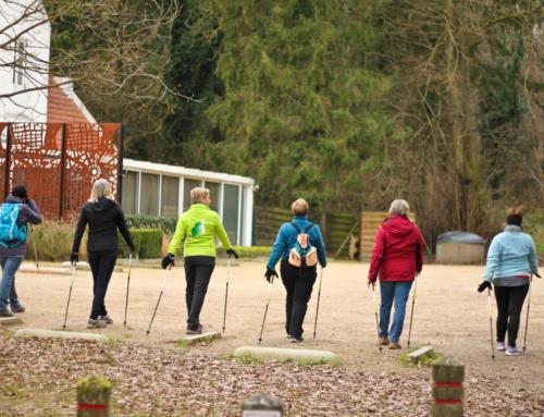 Nieuwe lessenreeks nordic walking in Maart!